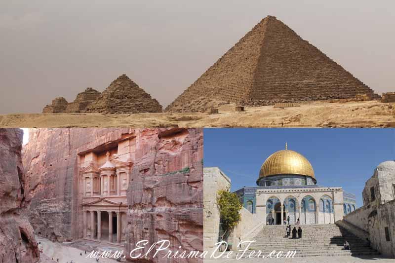 Itinerario de Egipto, Jordania e Israel por libre
