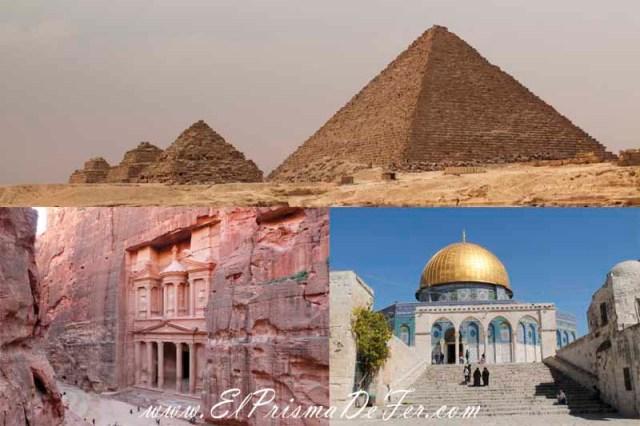 Itinerario de Egipto, Jordania e Israel