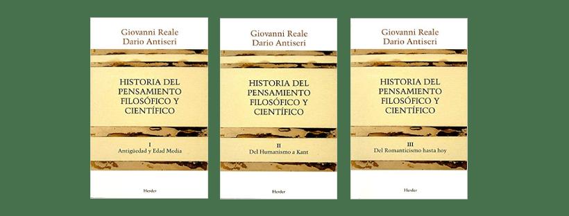 Historia del pensamiento filosófico y científico de Giovanni Reale y Dario Antiseri en pdf