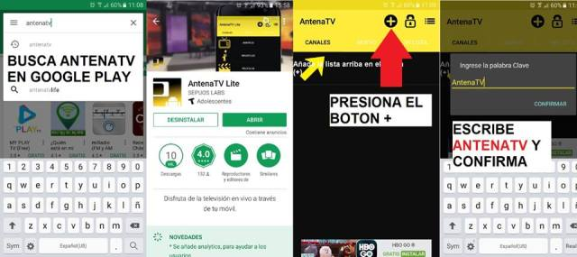 AntenaTV para ver partidos online gratis