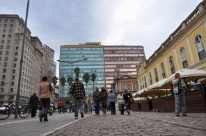 Al lado del Mercado, Porto Alegre, Brasil