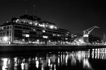 Puerto Madero de noche, Agustín Ciampagna