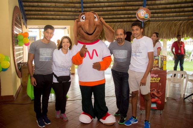 Javier Ibert, Nelly de Ibert, Manuel Ibert y Jorge Ibert