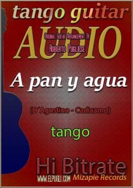 A pan y agua mp3 tango en guitarra