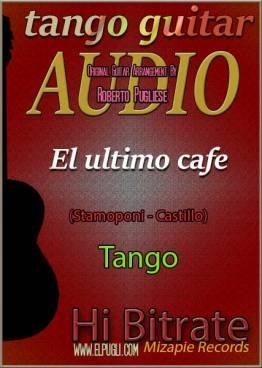 El último café mp3 tango en guitarra
