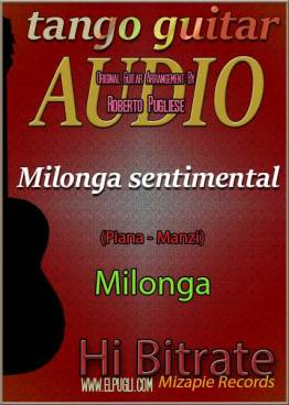 Milonga sentimental mp3 milonga en guitarra por Roberto Pugliese