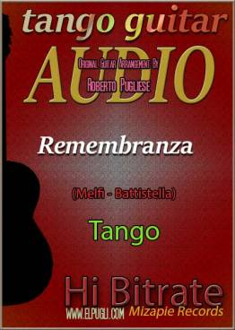 Remembranza mp3 tango en guitarra