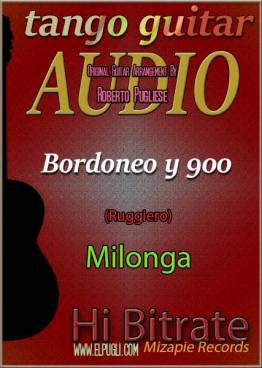 Bordoneo y 900 mp3 milonga en guitarra