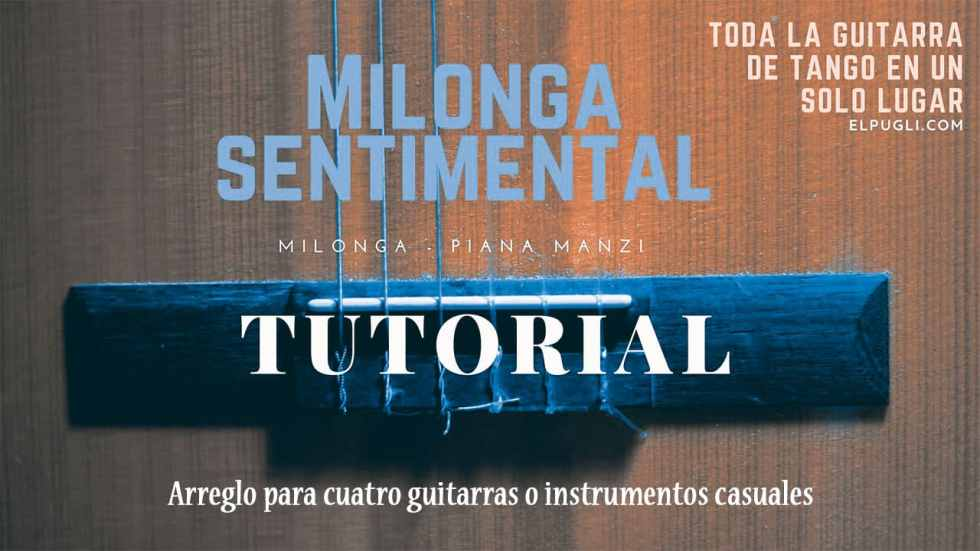 Milonga sentimental-cuatro-guitarras