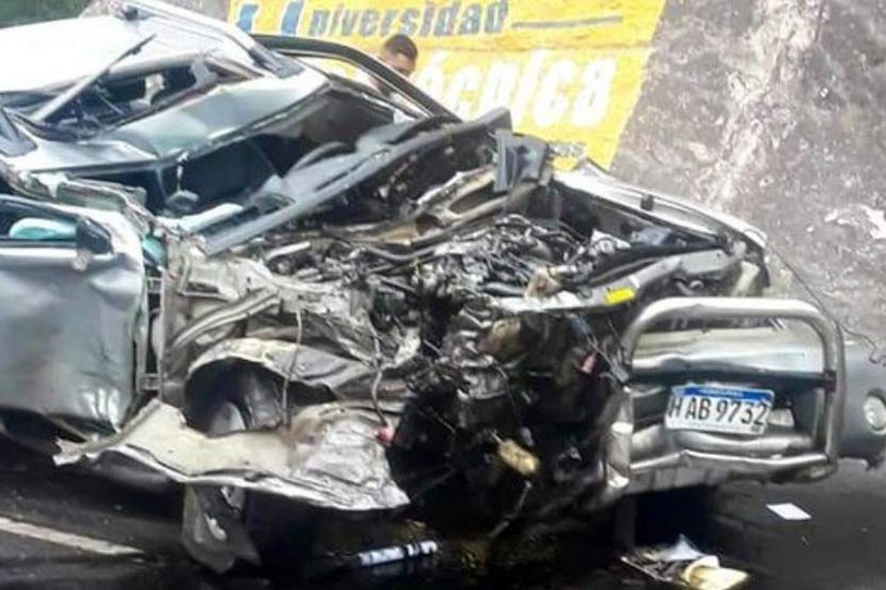 Accidente vial causa la muerte de tres personas