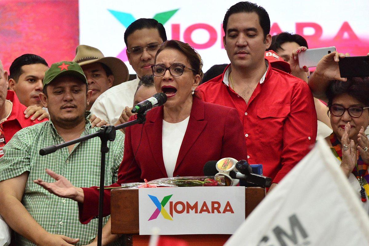 Xiomara Castro nuevamente buscará la presidencia