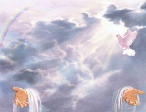 Dios supremo, cielo, Jesús, Jesucristo, Cristo, Espiritu Santo, Trinidad