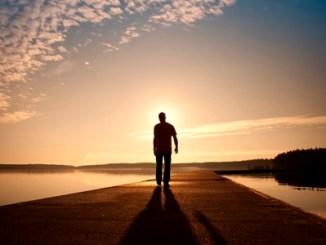 atardecer, caminar, presencia de Dios, anhelar