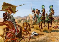 guerra en siria, antiguo, biblia, carros de combate