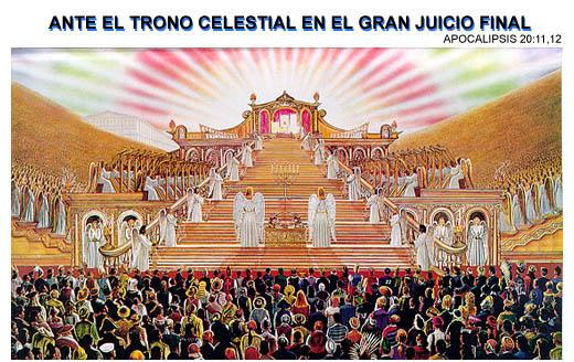 El tribunal de Cristo, Ante el trono Blanco, tribunal, el gran juicio del gran trono blanco