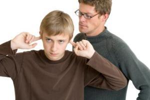padres e hijos, adolescentes, padres, bosquejo
