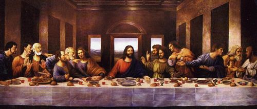 santa cena, jesus, ultima cena, senor