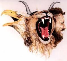 vision leon ezequiel, profecia, profeta, biblia