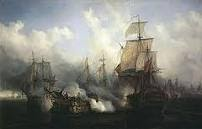 batalla mar, operación, barcos antiguos, veleros, bosquejo