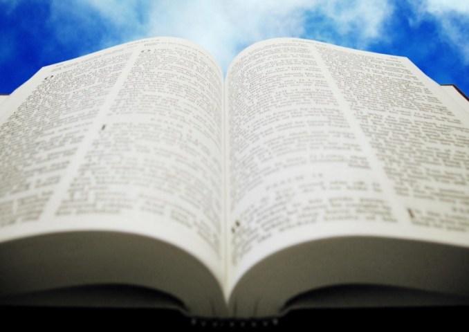 biblia, bible, abierta