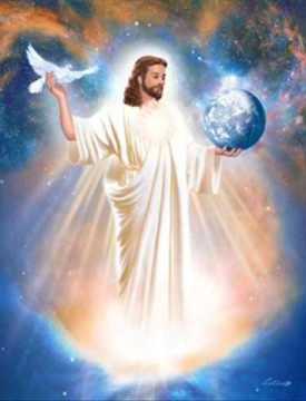 espiritu santo, luz del mundo, jesus, espíritu