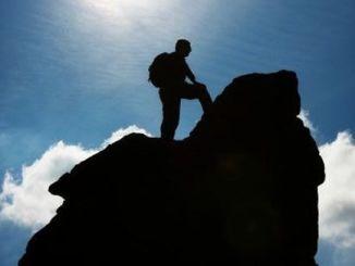 fe, cima, montaña