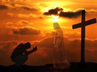 encontrar, jesús, corazon, cruz, oracion, tu