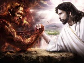 diablo, Dios, jesús, vencido