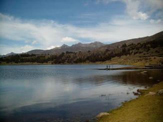 paisaje, etica cristiana, cristo, lago, cielo