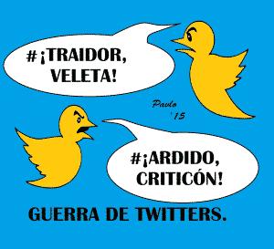 Guerra de twiters