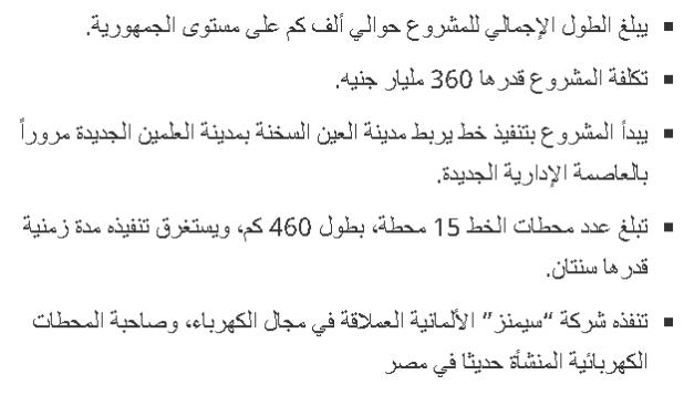 تفاصيل تكلفة القطار الكهربائي الجديد ~ خط سير  القطار الكهربي الجديد من العاصمة الادارية للعالمين