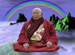 images rainbow monk