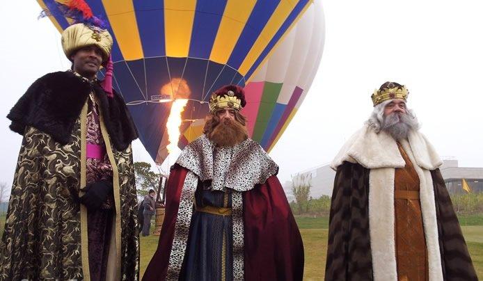 Los Reyes Magos llegarán desde Oriente a Córdoba en globo