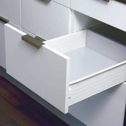 Innobox Steel Drawer 115mm Wall Height. Lengths from 350mm to 550mm 1
