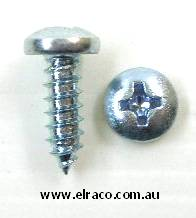 10Gx 1/2 SELF TAPPING SCREW. PAN HEAD PHILLIPS DRIVE. STAINLE 1