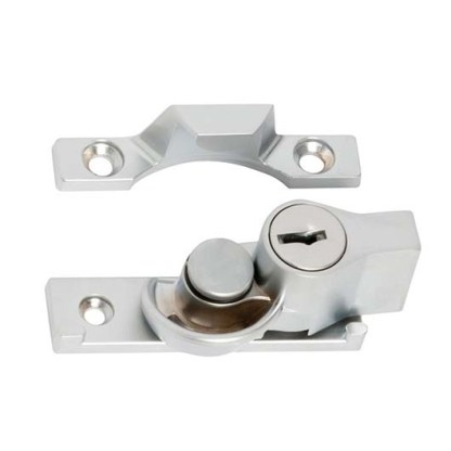 1624 - Fitch Fastener - Key Operated - Satin Chrome 1