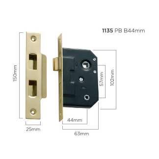 Bathroom Mortice Locks 12