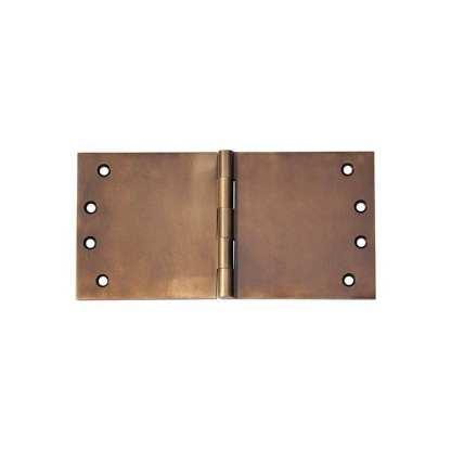 2393 Hinge - Broad Butt Hinge - Antique Brass - 100x200x4mm 1