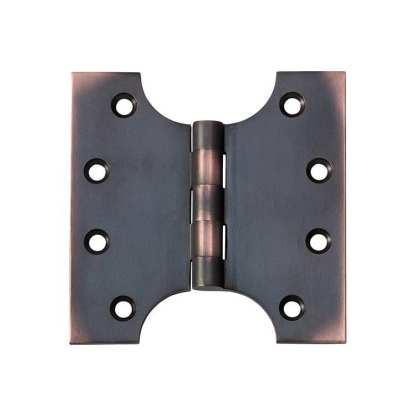 2580 Hinge - Parliament Hinge - Antique Copper - 100x100x4mm 1