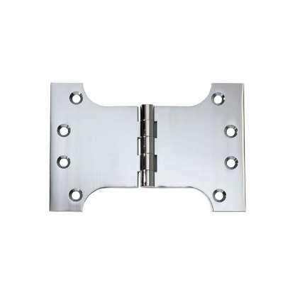 2682 Hinge - Parliament Hinge - Chrome Plate - 100x150x4mm 1