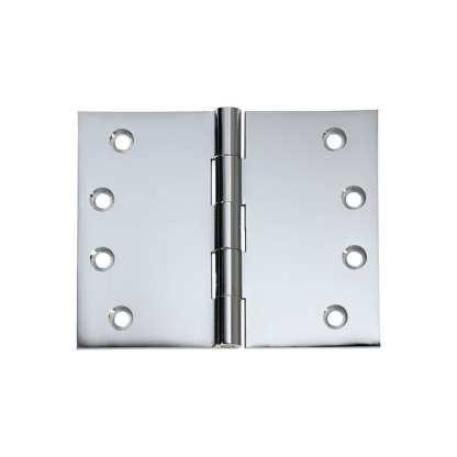 2690 Hinge - Broad Butt Hinge - Chrome Plate - 100x125x4mm 1