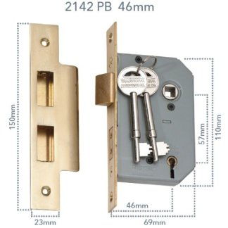 Mortice locks with Traditional key 1