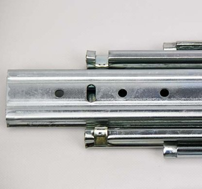 Heavy Duty Drawer Slides. Lengths from 407mm up to 1524mm. 227kg Rated 3