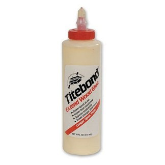 Titebond EXTEND 473ml - Aliphatic PVA Wood Glue - Cream colour - Dries clear