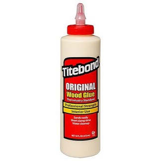 Titebond Original 473ml - Aliphatic PVA Wood Glue - Cream colour - Dries cream
