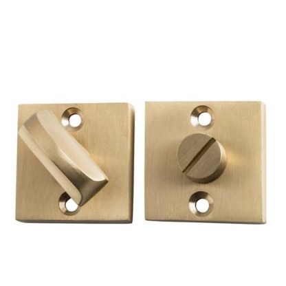 Tradco Privacy Turn Square. 35x35mm. Ten Finishes 3