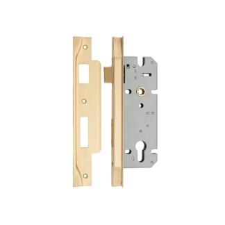 Satin Brass Door Hardware 57
