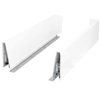 Alto Soft Close Drawer Kit with a Wall height of 120mm. Lengths from 270mm to 500mm long. 1
