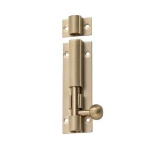 Satin Brass Door Hardware 84