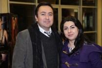 Carlos Saravia y Lorena Ceballos.